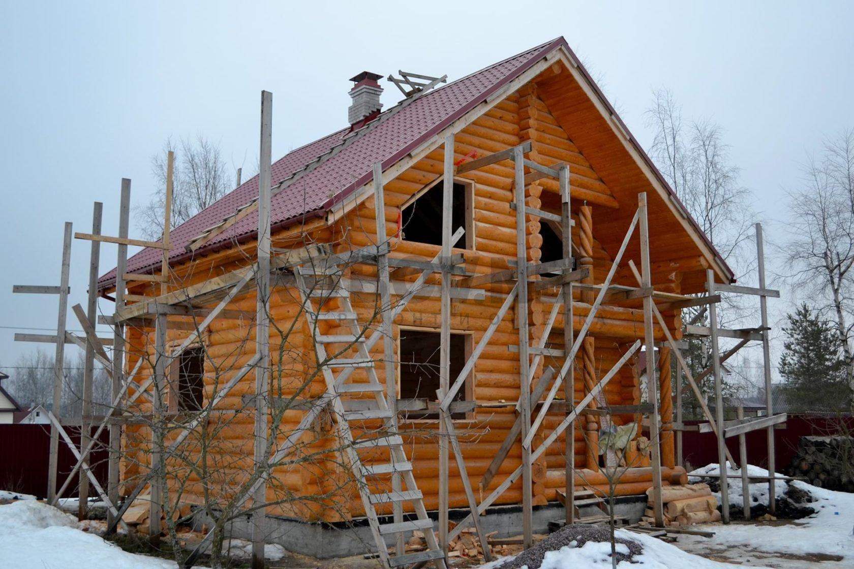 Отделка дома 7х8, Ириновка, ЛО