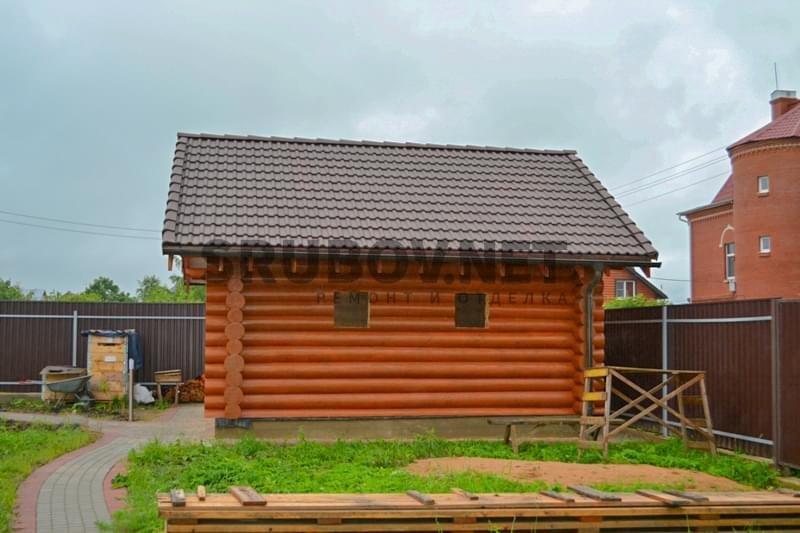 """Отделка бани """"под ключ"""", г. Красное Село, СПб."""