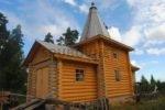 Деревянная церковь, Карелия.