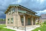 Ремонт деревянного дома, д.Ольшаники, ЛО