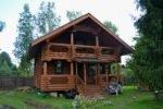 Отделка деревянного дома, п.Апраксин, ЛО.